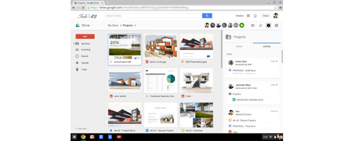 Google Drive for Work - Activity Update