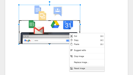 Google Apps Tips - Reset Image in Google Drive