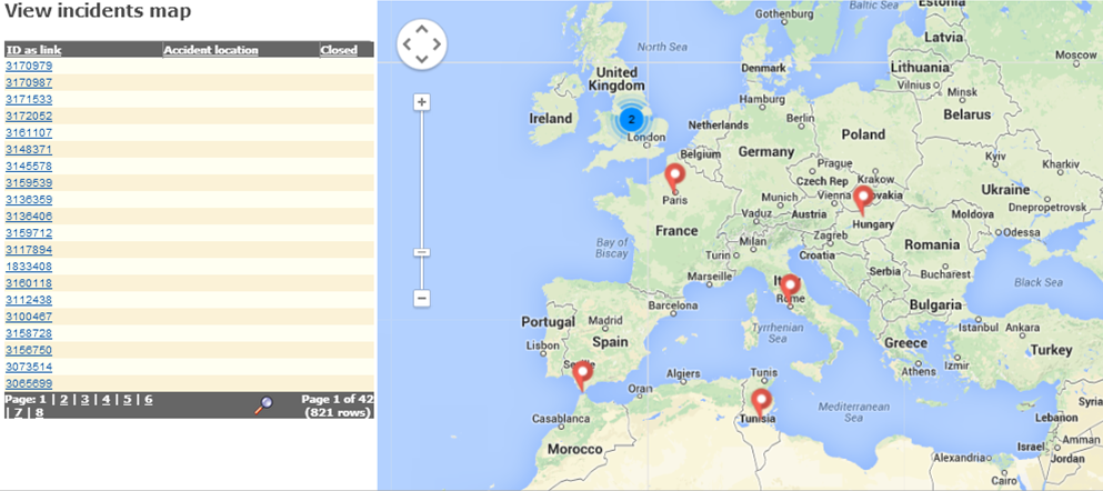 Google Maps for Work for Rivo Software