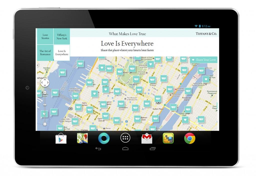 Google Maps API - Tiffany