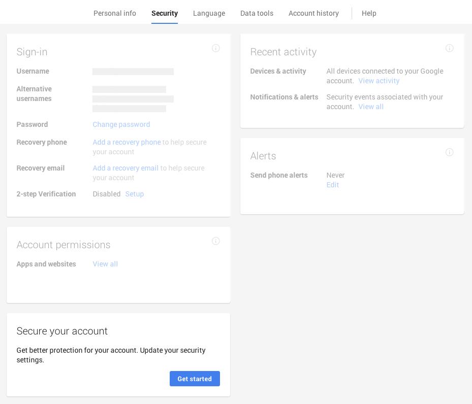 Google Security Updates
