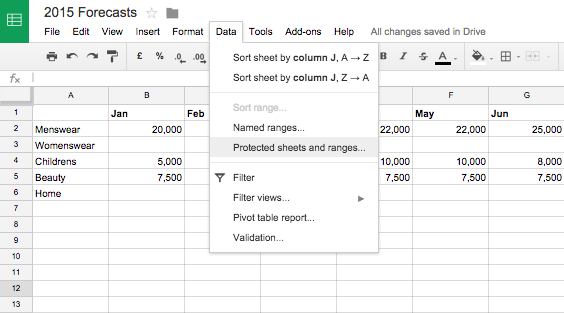Google Apps Tips: Google Sheets Data
