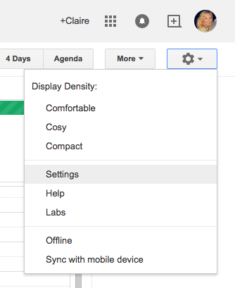 Google Apps Tips: Calendar Settings
