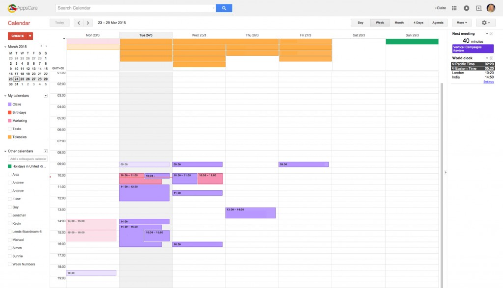 Google Apps Tips: Google Calendar