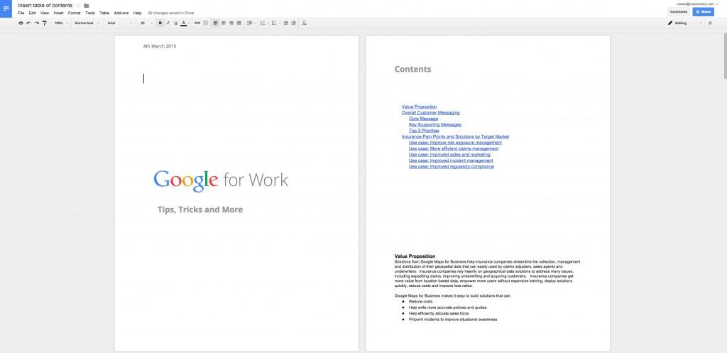 Google Apps Tips: Google Docs