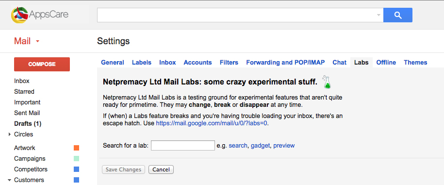 labs-gmailsearch