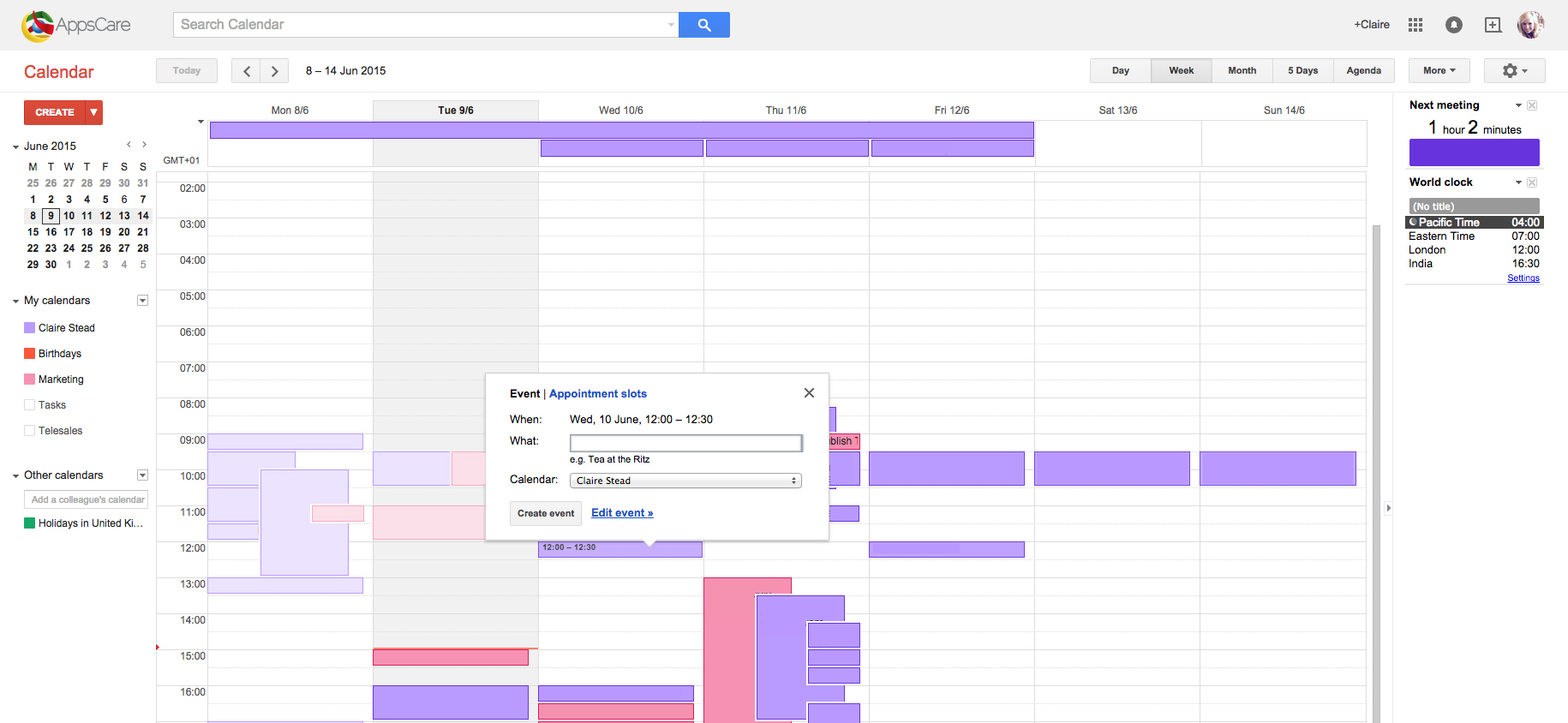 calendar event appscare how to find the right time for your meeting in google,Google Calendar Event Invite