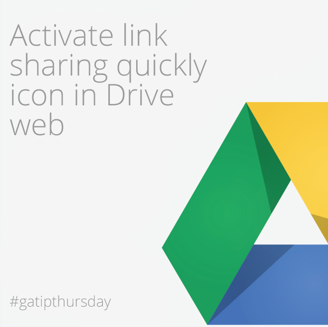 activate link sharing